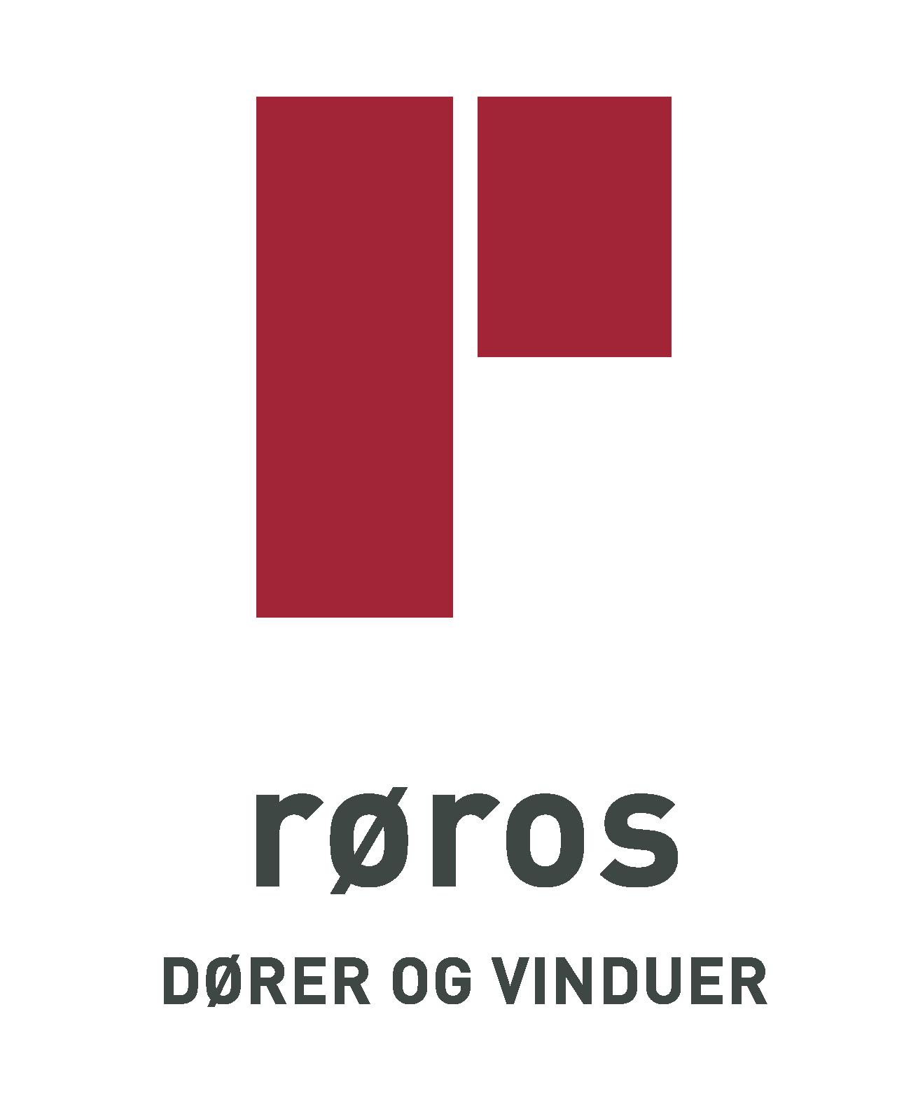 Røros dører og vinduer logo